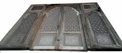 Carved Front Door
