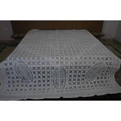 Jaipuri Stone Wash Kantha Bed Sheet