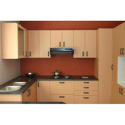 Design U Shaped Modular Kitchen