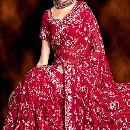 d9b47ec8e Bridal Wedding Sarees - View Specifications   Details of Bridal ...