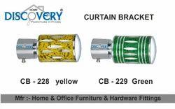 Yellow Curtain Bracket