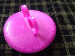 Pink Finger Grip Comb