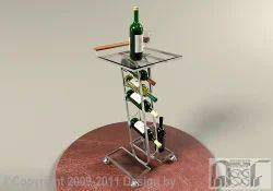 SS Wine Stand