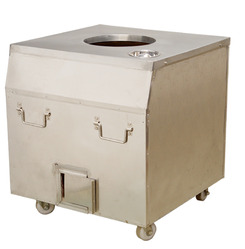 Rectangular Stainless Steel Tandoor, For Hotel, Capacity: Multi Size