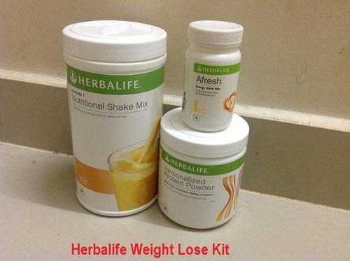 how to take herbalife products for weight loss