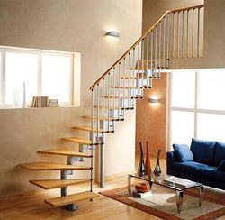 SS and Wooden Baluster