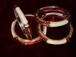 Polished Brass Bangles