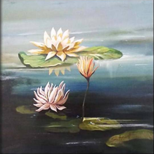 Lotus flowers painting view specifications details of flower lotus flowers painting mightylinksfo
