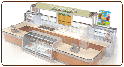 Food Kiosk Layout