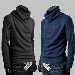 bdb8ca04 Men's Turtleneck T-Shirt at Rs 90 /piece   Gents T-Shirts, Men T ...