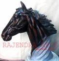 Fiber Horse Head