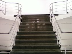 Polished Stainless Steel Railing