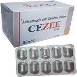 Cezee Tablet / Susp ( Cifixime Azithromycin)