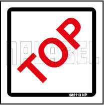 582113 Top Side Indication Packing Sticker