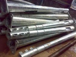 Galvanizing Of Light Poles