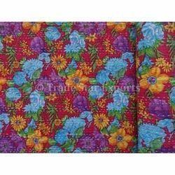 Multi Color Kantha Cotton Bedspread