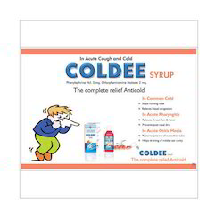 Anti Cold Syrup, for Wet Cough