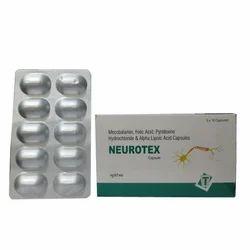 Mecobalamin Folic Acid Pyridoxine Hydrochloride and Alpha Lipoic Acid Capsules