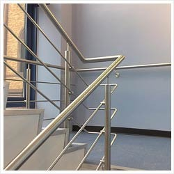 Stainless Steel Staircase Girgaon