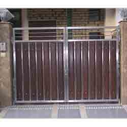 Metallic Main Gates Designer Main Gate Manufacturer From Mumbai