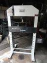 Harison Four Column Type Semi-automatic Workshop Machine, Capacity: 80 Ton