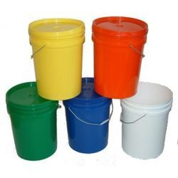 Plastic Paints Containers Pail Bucket Manufacturer From