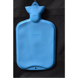 Rubber Blue Hot Water Bag, Size: 0.5 L