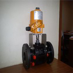 Motorized Plastic Ball Valve