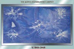 Tie- Dye Handloom Carpet