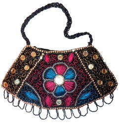 Beaded Purses with Mirror work