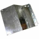 Gray Aluminium Refrigerator Bottom Panel, Hinge