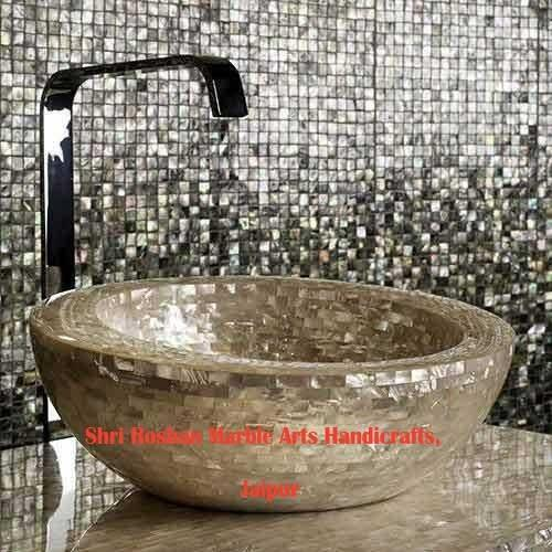 Marble Mother Of Pearl Bathroom Accessories