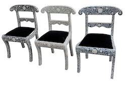 Bone Inlay Chairs