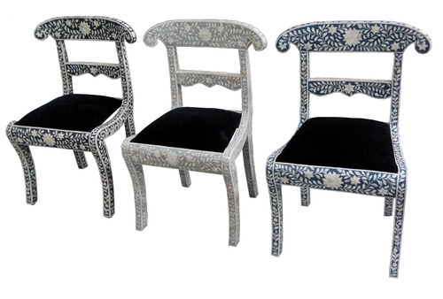 Etonnant Bone Inlay Chairs
