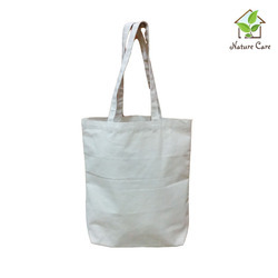 Natural Organic Cotton Canvas Bag, Capacity: 5 to 6 kg