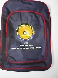 Nevy Blue. Red. Black Nylon Kg Primary School Bag