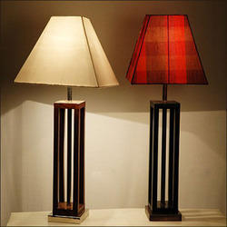 Stylish Wooden Lamp