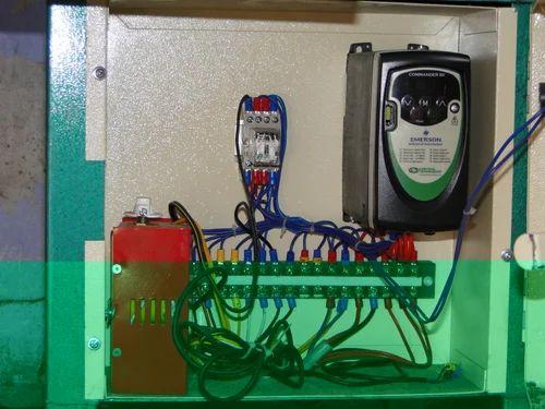 Electrical Panel For Agarbatti Making Machine Industrial Electrical Panels इल क ट र कल प नल व द य त प नल Hetal Engineering Works Ahmedabad Id 10427321533