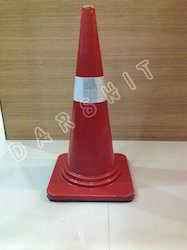 Safety Cone with Rubber