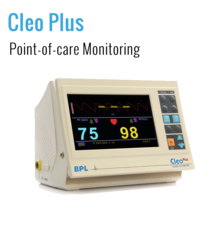 LCD BPL Cleo-Plus Patient Monitor, Screen Size: 7