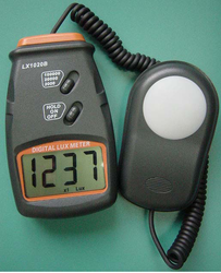 Mextech Brand Digital Lux Meter Model No-LX-1020B