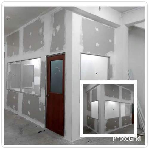 Low Partition Gypsum : Gypsum false ceiling services board partition