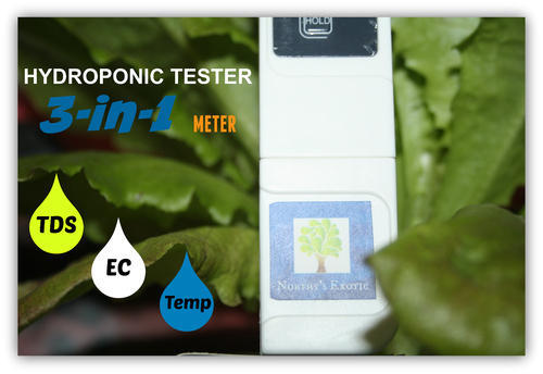 Hydroponic Testers & Meters - Hydroponics Meter ( 6 In 1 Continuous
