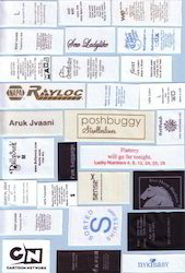 Tafeta Printed Labels