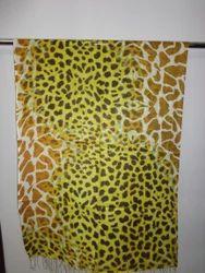 Cheetah Printed Modal Stoles