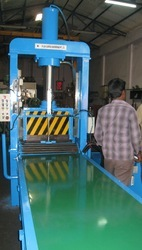 HEAVY DUTY RUBBER CUTTING MACHINE