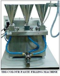 Tri Color Paste Filling Machine