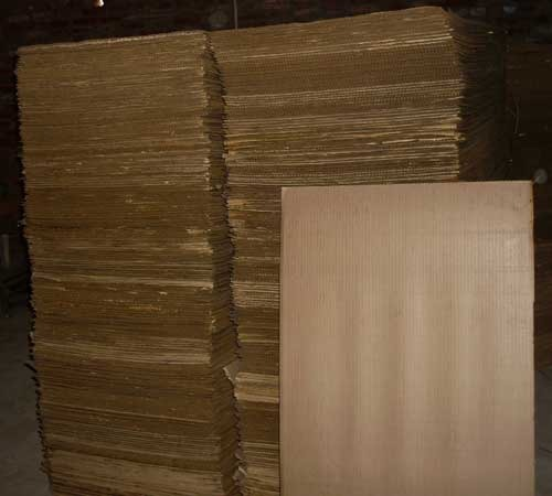 corrugated paper terminology