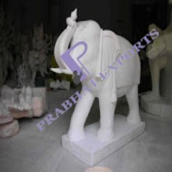 Marble Stone Elephant Handicrafts