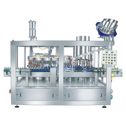 Automatic Monoblock Vacuum Filling And Sealing Machine